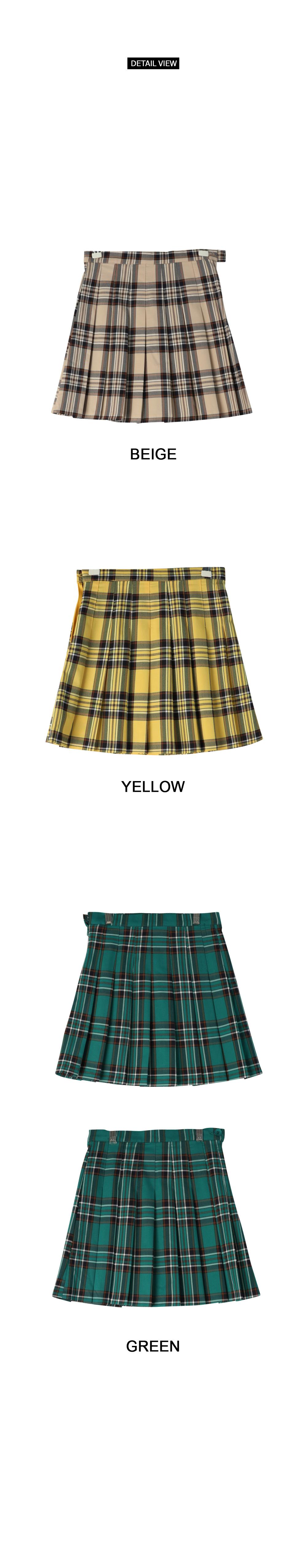 Lily Check Tennis Skirt