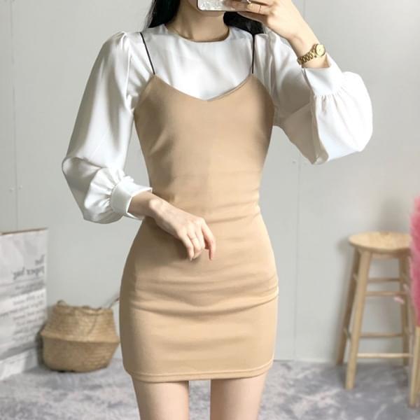 Plain Thai bustier dress