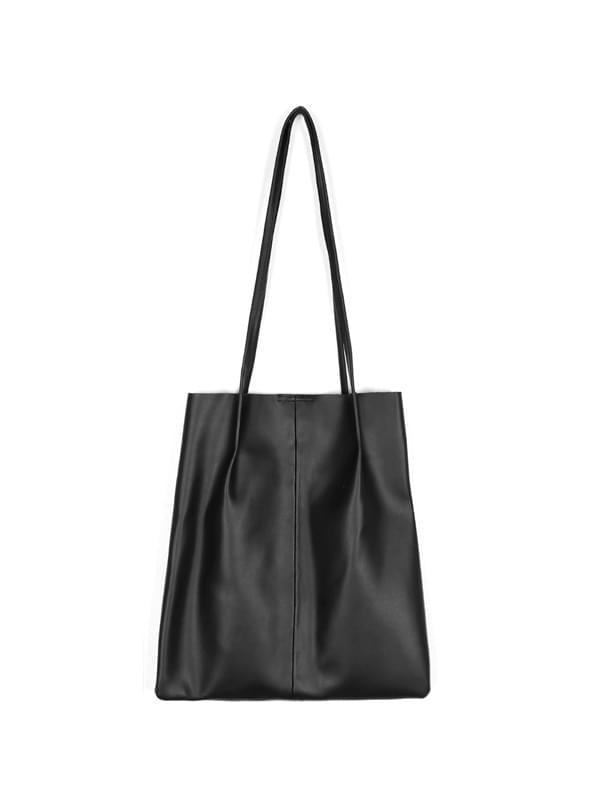 leather square shoulder bag
