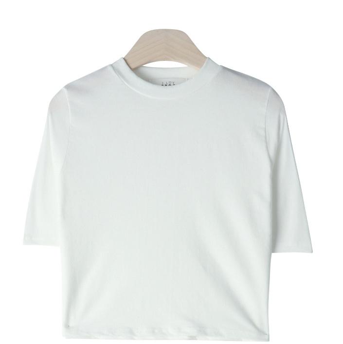 Cache Crop Short Sleeve Polo Shirt
