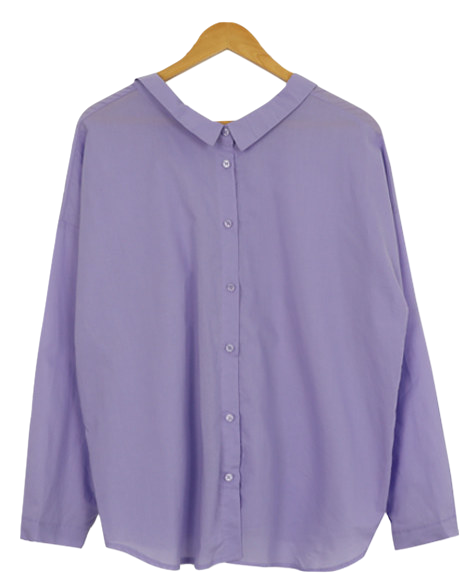 Reverse ankle ribbon shirt