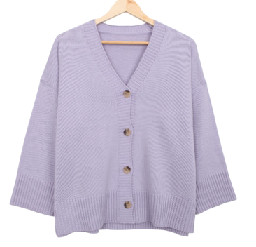 Button chouffe cardigan
