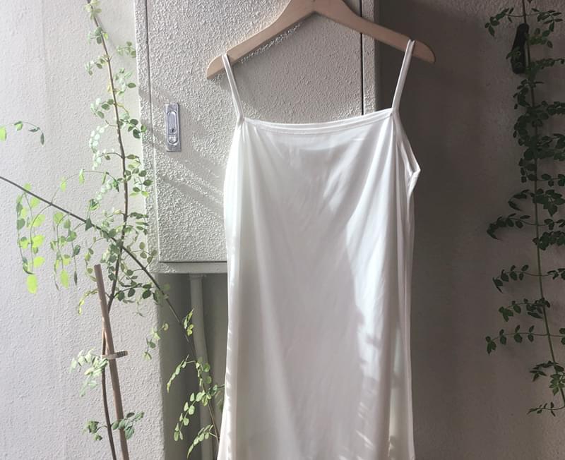 Shine Silk Mini Slip Dress
