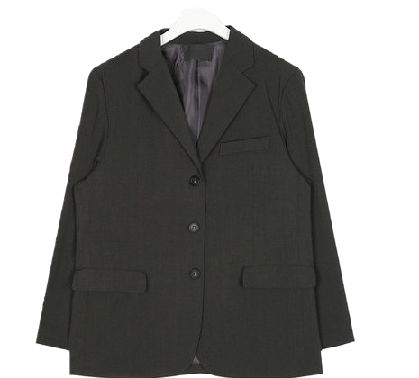 garment single mannish jacket