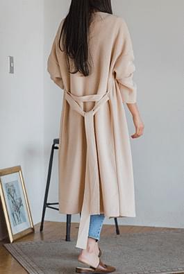 Modern long cardigan