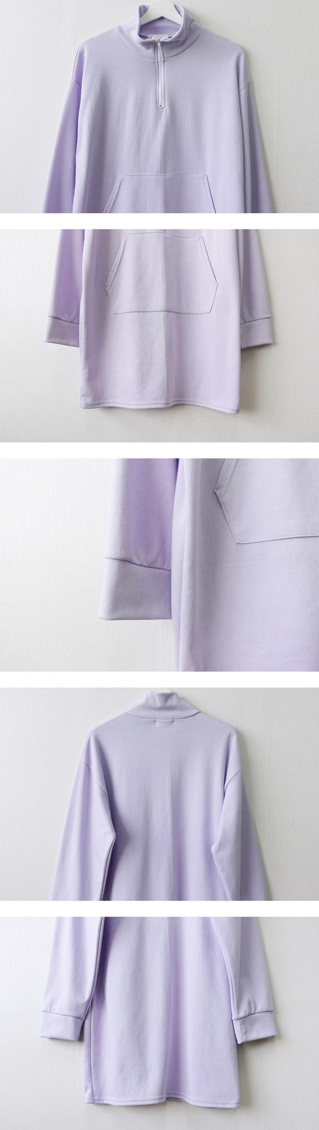 Anorak half-packed business mini pocket