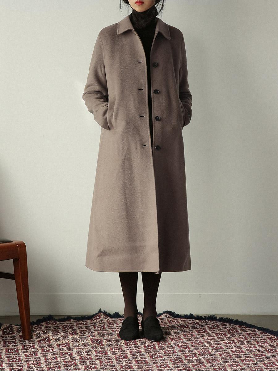 feminine a-line coat