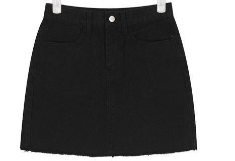 little cotton mini skirt (s, m, l)