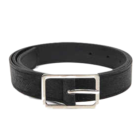 thin square frame belt