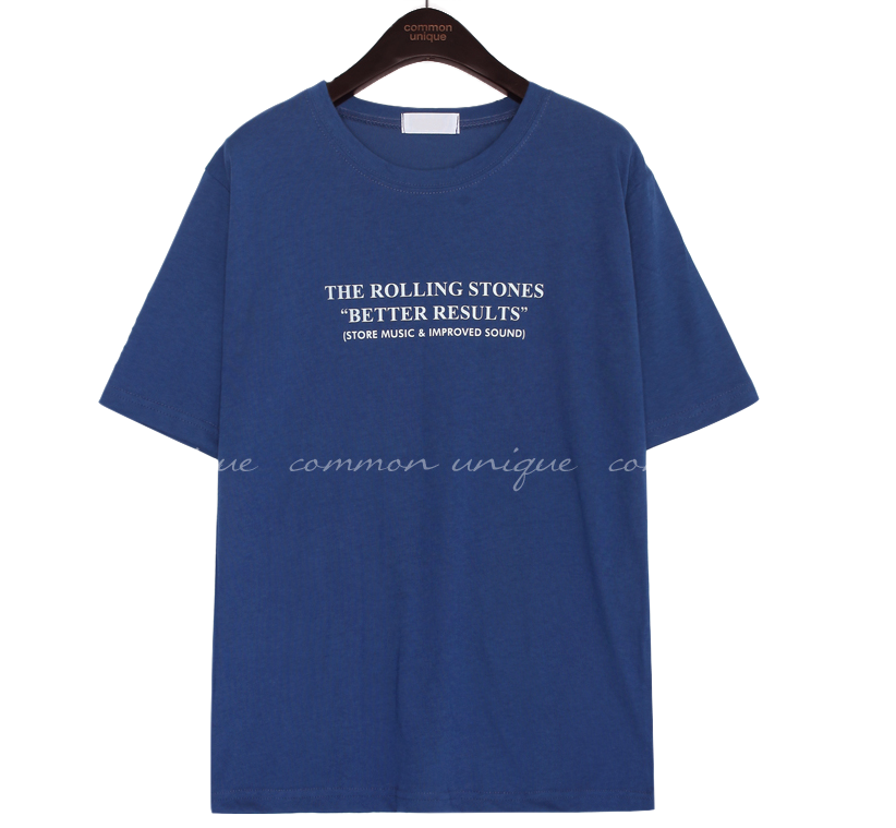 ROLLING STONES LETTERING 1/2 T