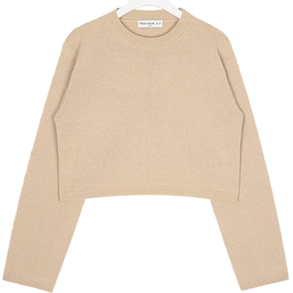 FRESH A round crop knit