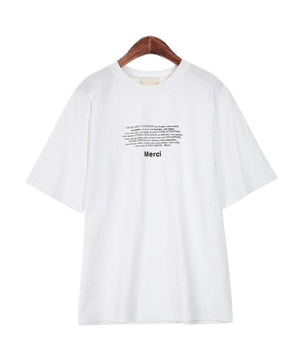 Merry Lettering T-shirt