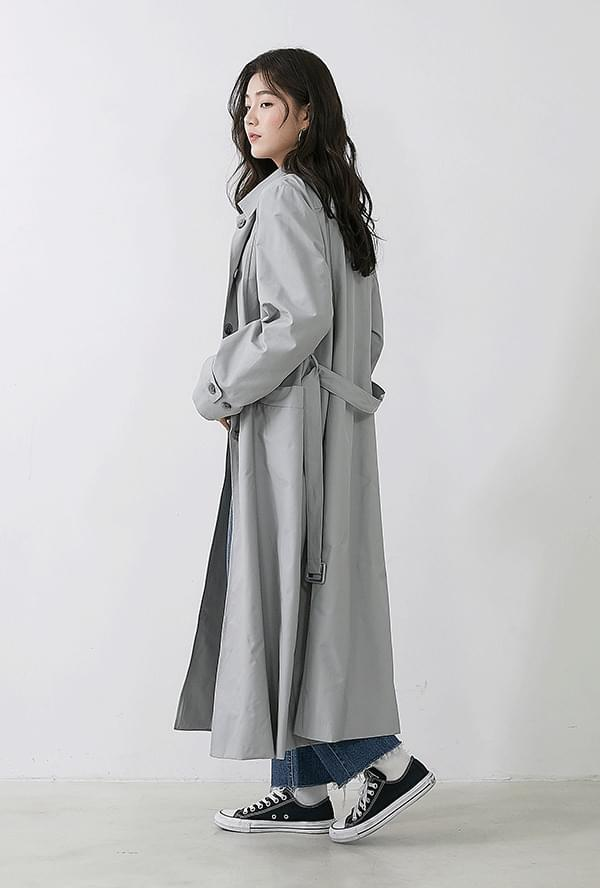 Pure Dun Dun Long Trench Coat