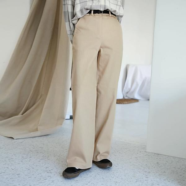 Loose-fitting cotton Slacks