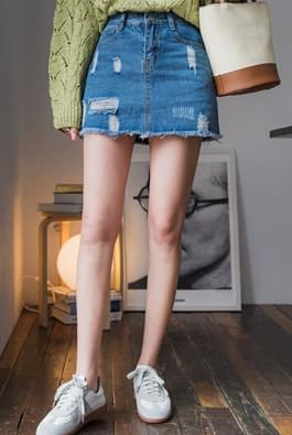 Outfit denim skirt pants