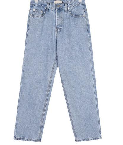 original stright denim pants