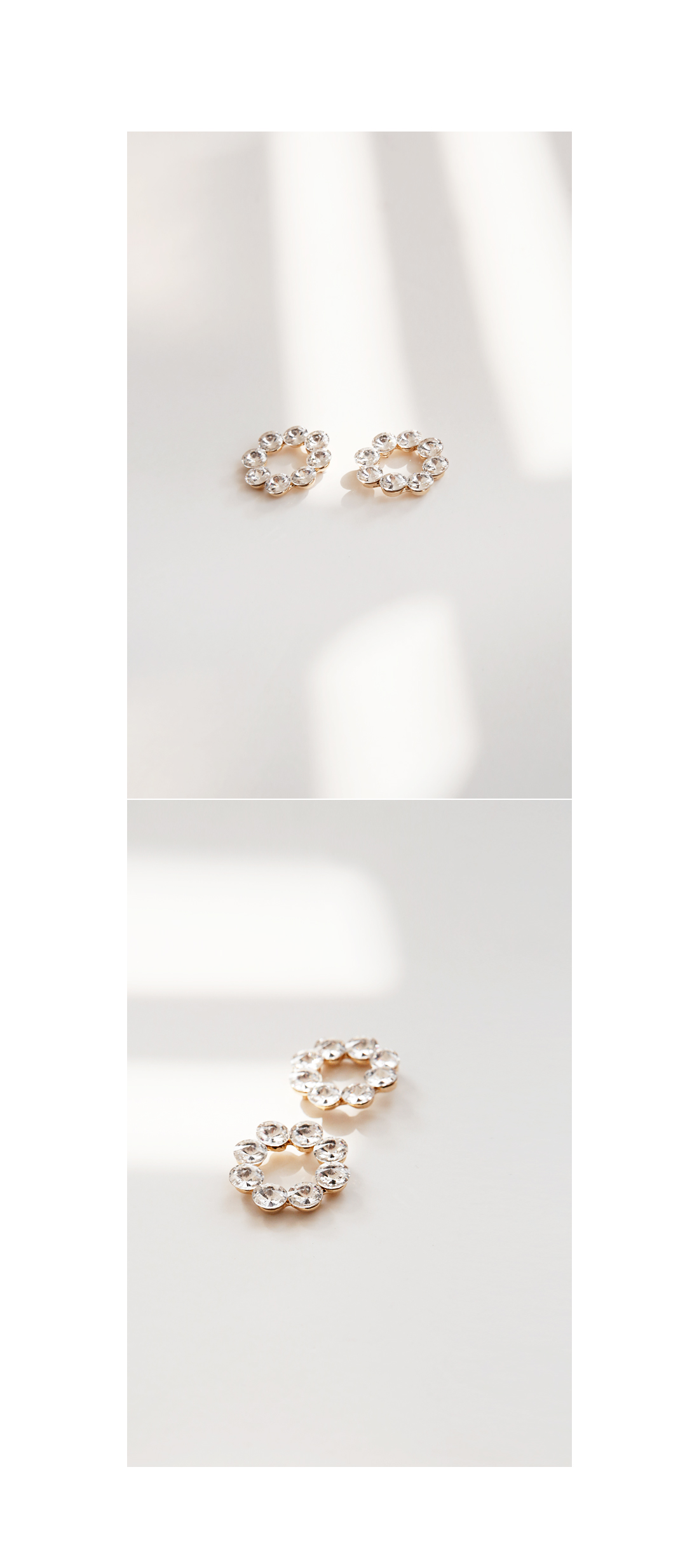 CUBIC CIRCLE EARRING