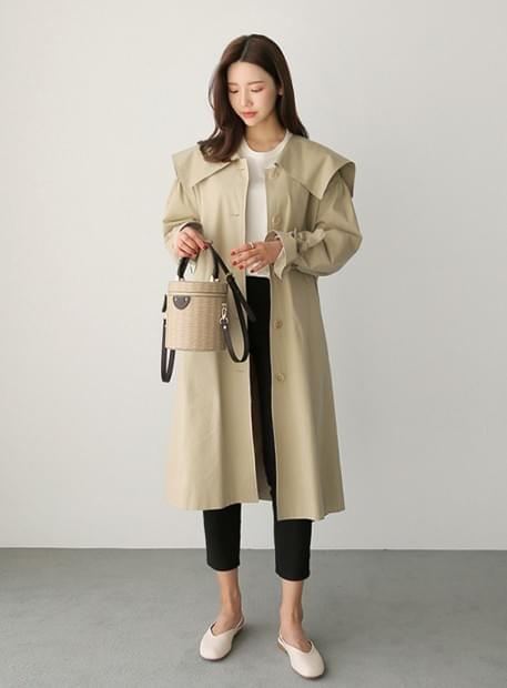 Big color trench coat