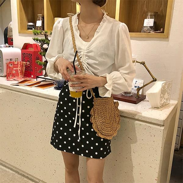 Egg prilling blouse