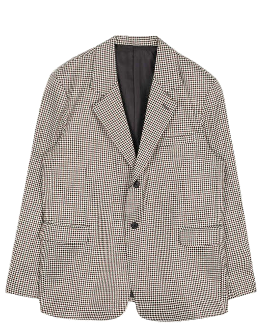 check single 2-button jacket - men