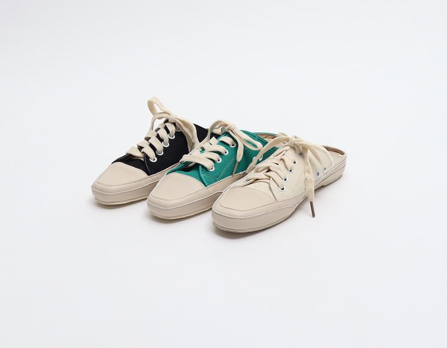 Canvas sneakers mule_K