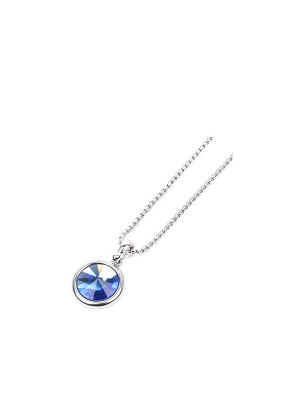 gemstone necklace (2 color)