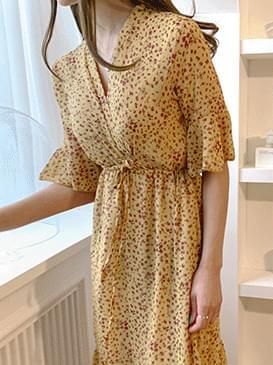 Chiffon Lumi Flower Dress