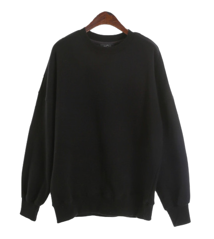 unisex overfit mtm with inner