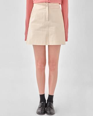 septemder cotton mini skirt