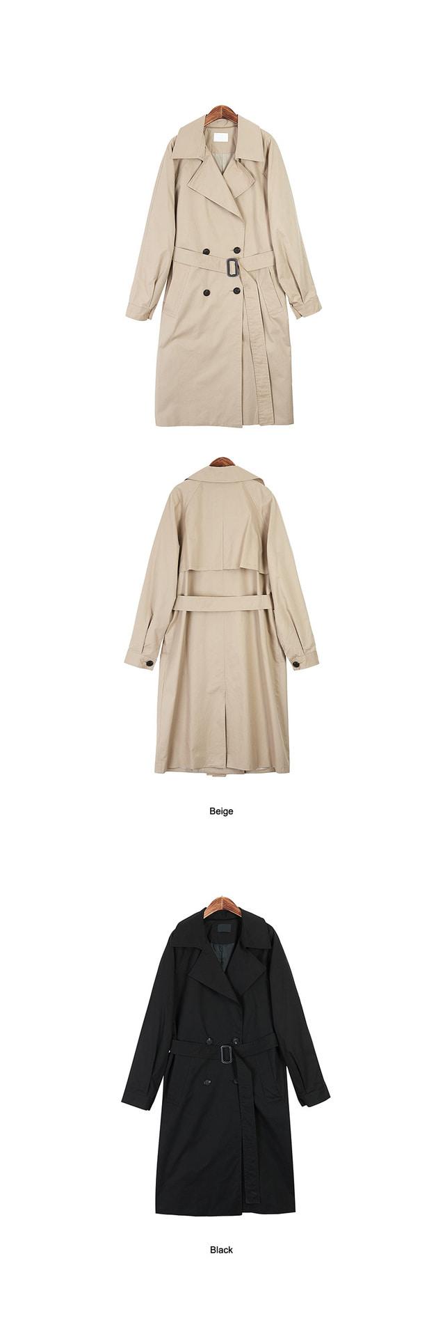 버킨 트렌치 코트