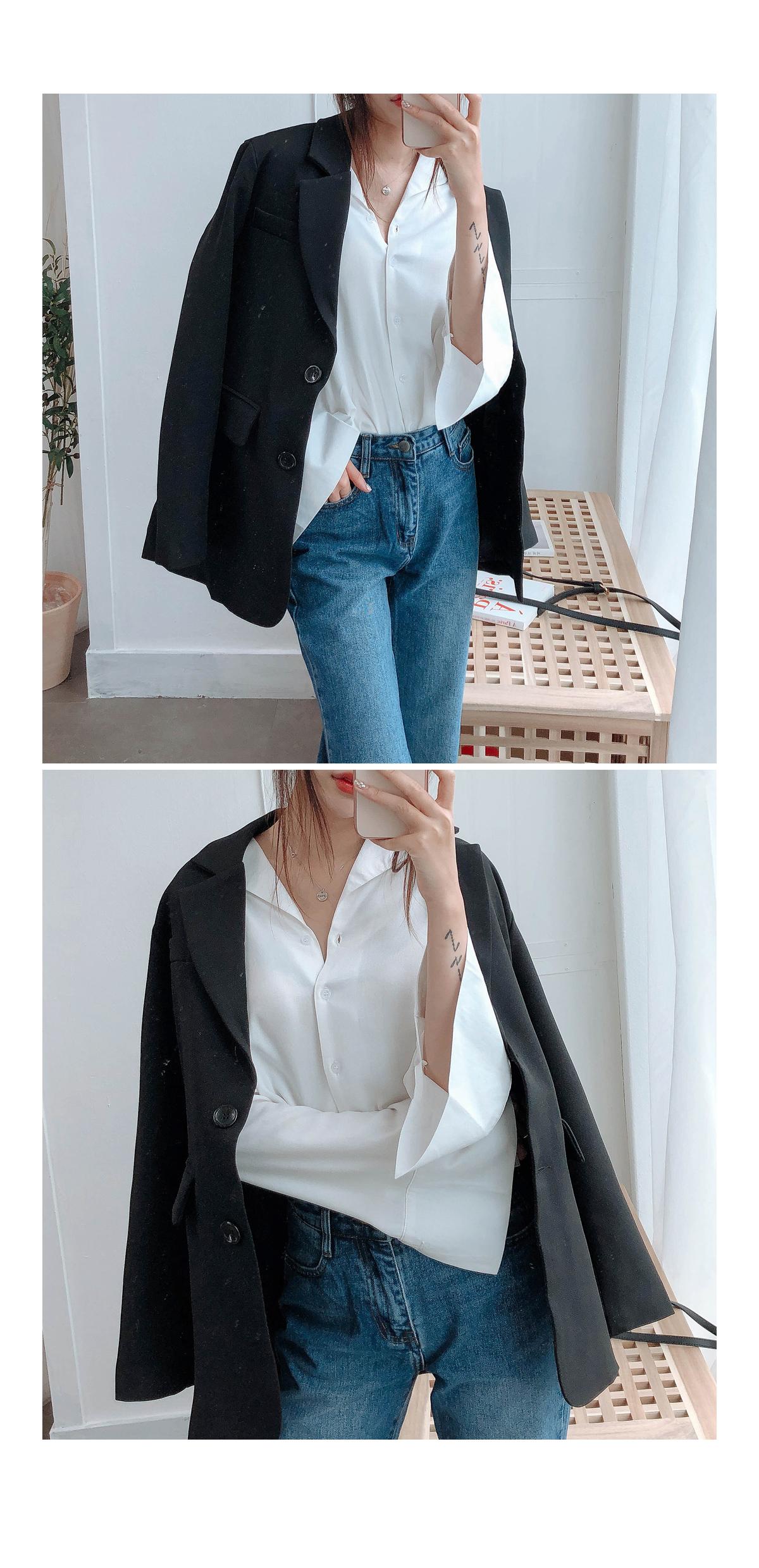 V neckla cuff shirts & blouses
