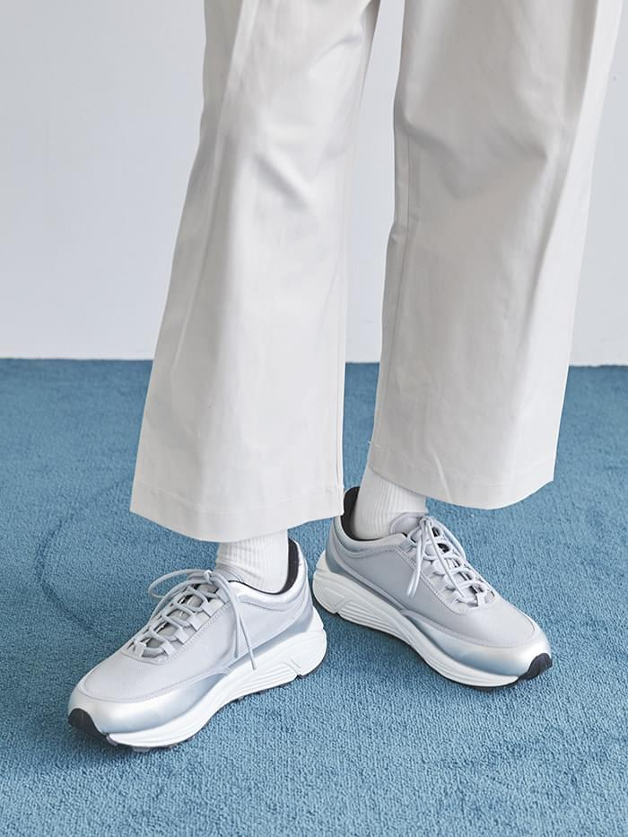 sporty platform sneakers (2 color) - men