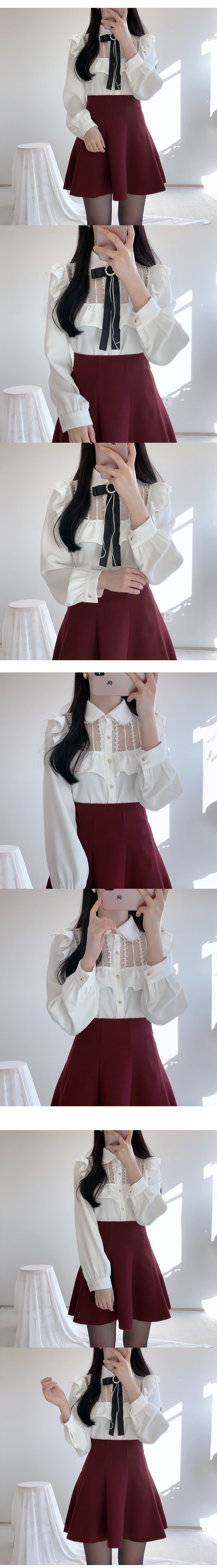 Order rush, year-end look Rapunzel lace blouse