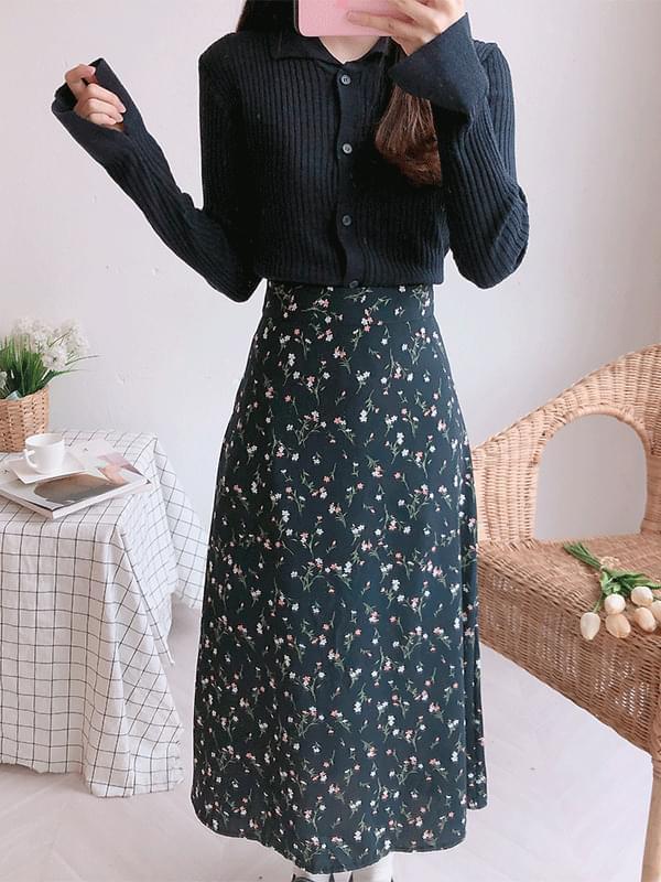 Azalea bending long skirt