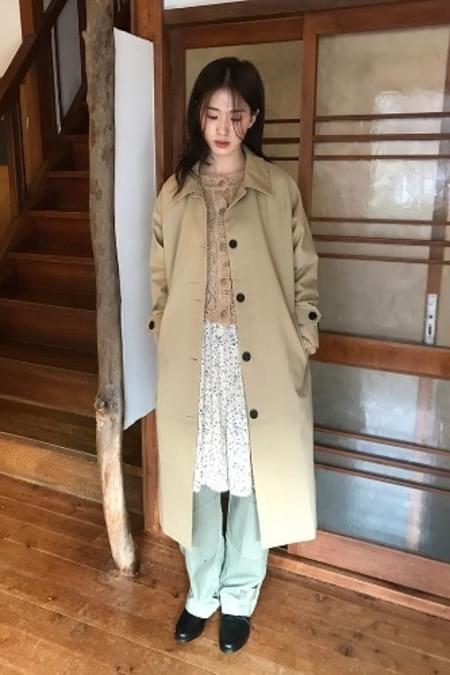 boxy single coat