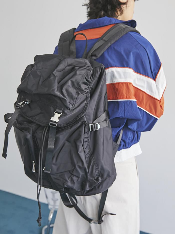 buckle multi backpack (2 color)