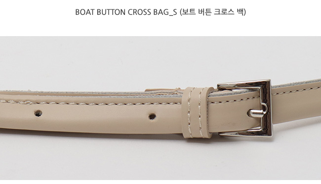 Boat button cross bag_S