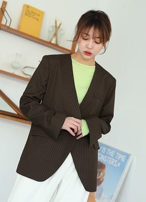 Nokara striped jacket