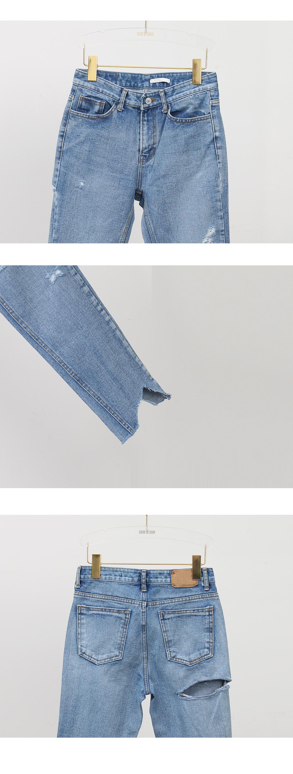 Unbalance Point Jeans