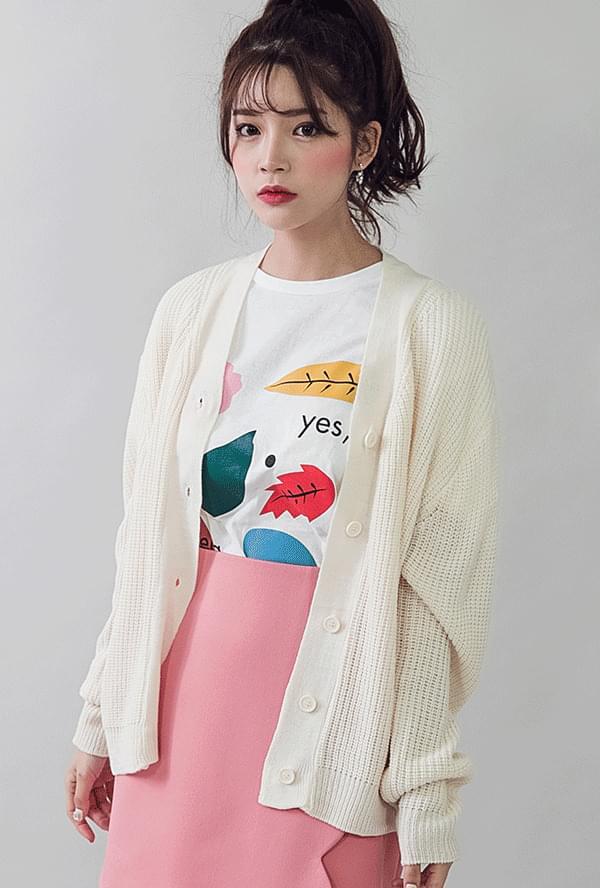 Hachi V neck cardigan