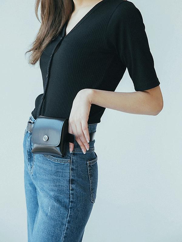 Mini pocket belt bag