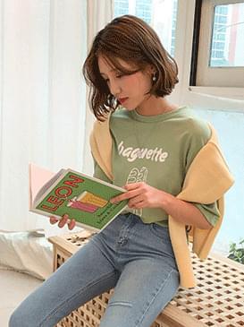 Printing Baguette T-shirt
