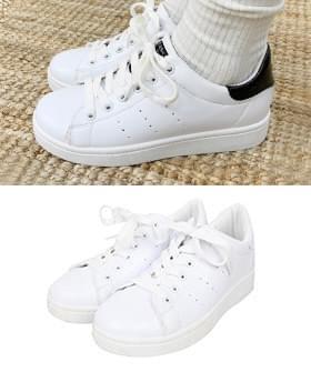 Clean Lettering Sneakers