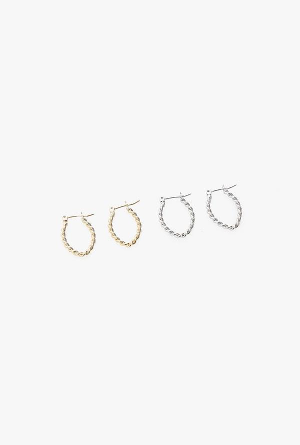 Soy earrings