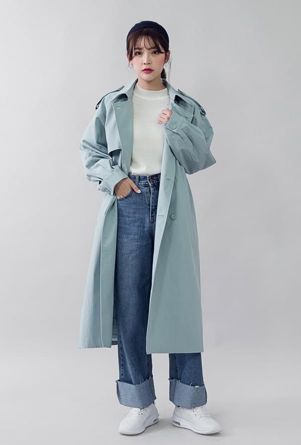 Monday trench coat
