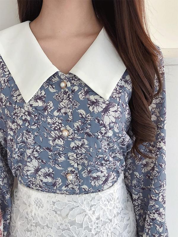 Matilda Flower Blouse