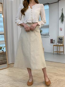 Square Lumi crop blouse