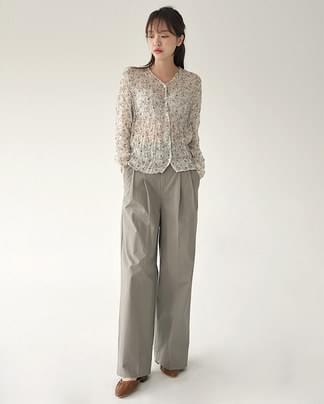 benjamin v-neck blouse
