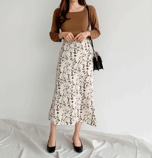 Flip Lavender Long Skirt