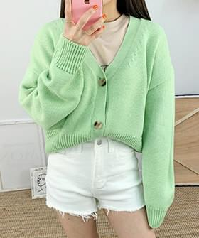 Julia Crop Cardigan